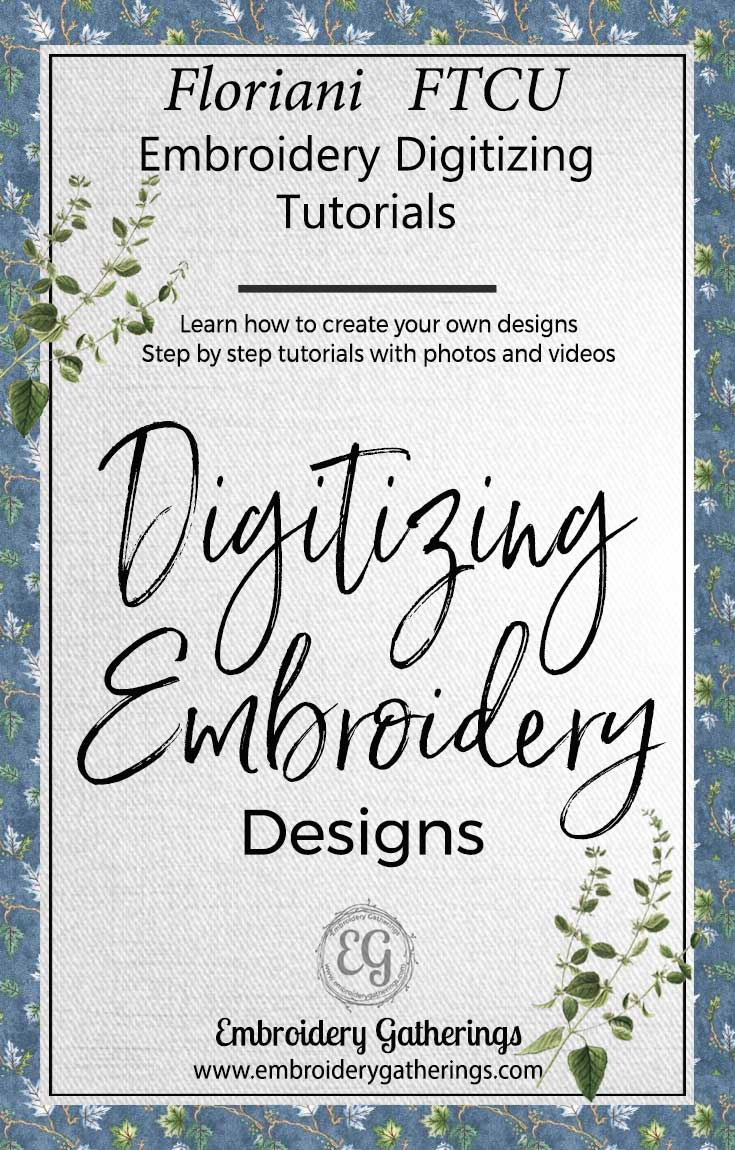Learn To Digitize Embroidery Designs