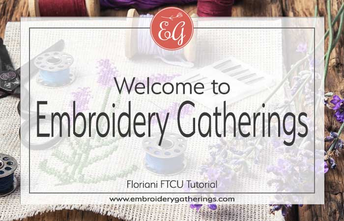 Tutorials To Digitize Embroidery Designs With Floriani Ftcu