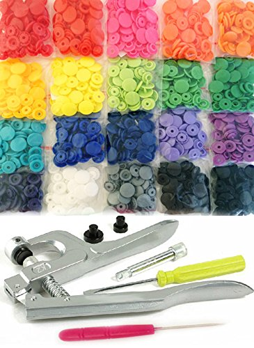 Kam snaps 200 pc 20 color starter pack