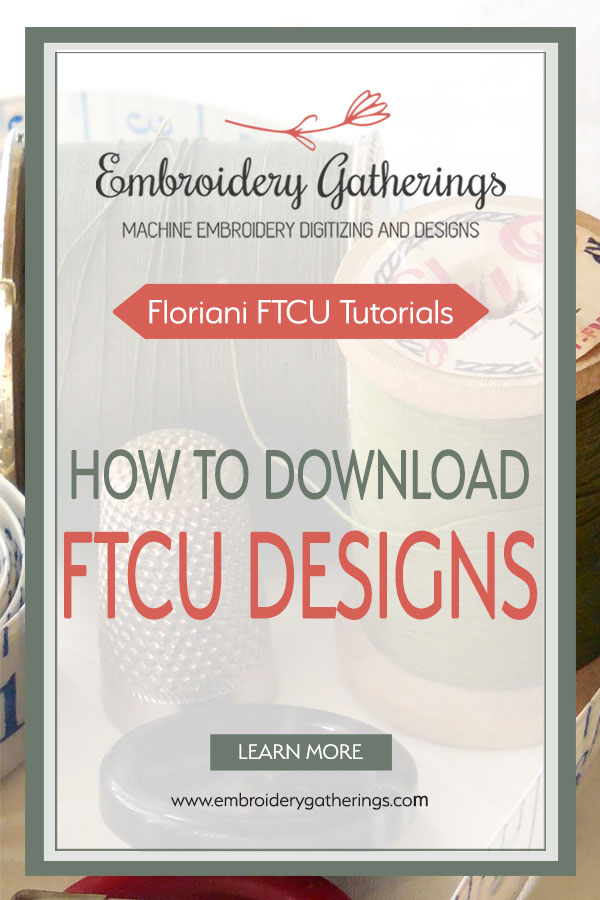 Step-by-step tutorial of how to download and install Floriani free monthly designs. Get a FREE PDF copy of tutorial. #florianiembroidery #embroiderygatherings #free embroidery designs