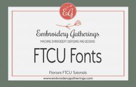 Floriani FTCU-fonts