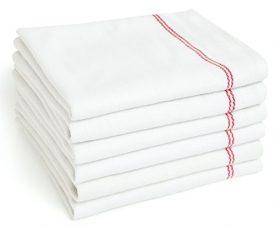 small stripe kitchen towels