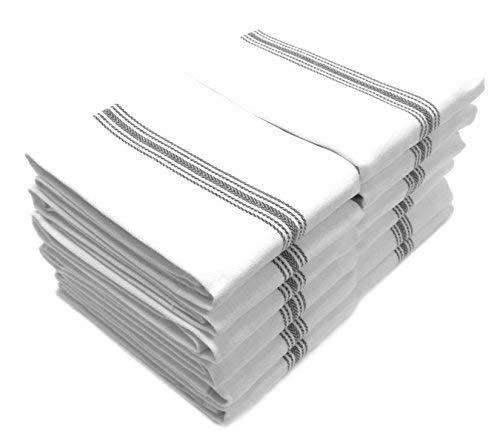 stripe dish towels