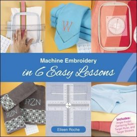 Machine Embroidery 6 easy steps book