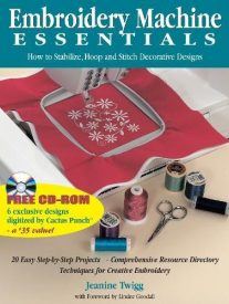 Embroidery Hooping Essentials book