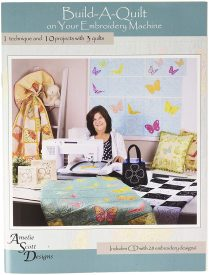build a quilt embroidery pattern