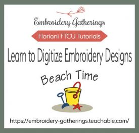 Digitizing outlines-Beginner FTCU classhttps://embroidery-gatherings.teachable.com/