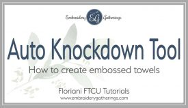 Tutorial-Using the Auto Knockdown Tool in Floriani FTCU