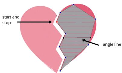 tracing a shape in floriani ftcu