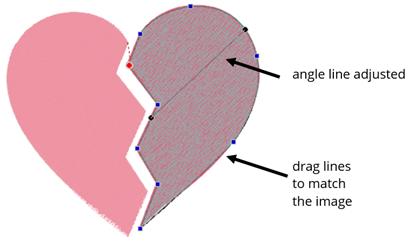 edit the shape in floriani ftcu