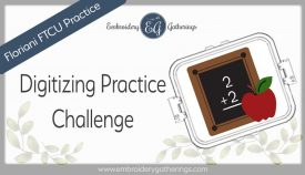 FTCU digitizing practice-chalkboard-apple