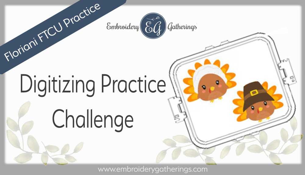 FTCU digitizing practice - pilgrim turkeys